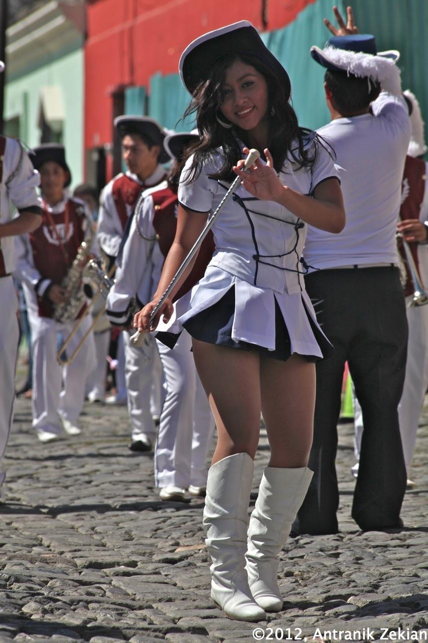ma belle cheerleader guatémaltèque...