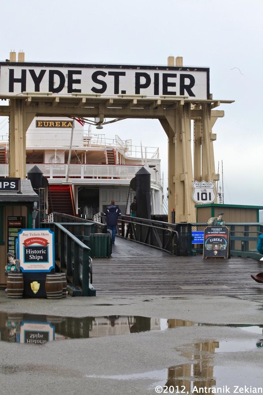 Hyde Street Pier, l'embarcadaire de ferries historique