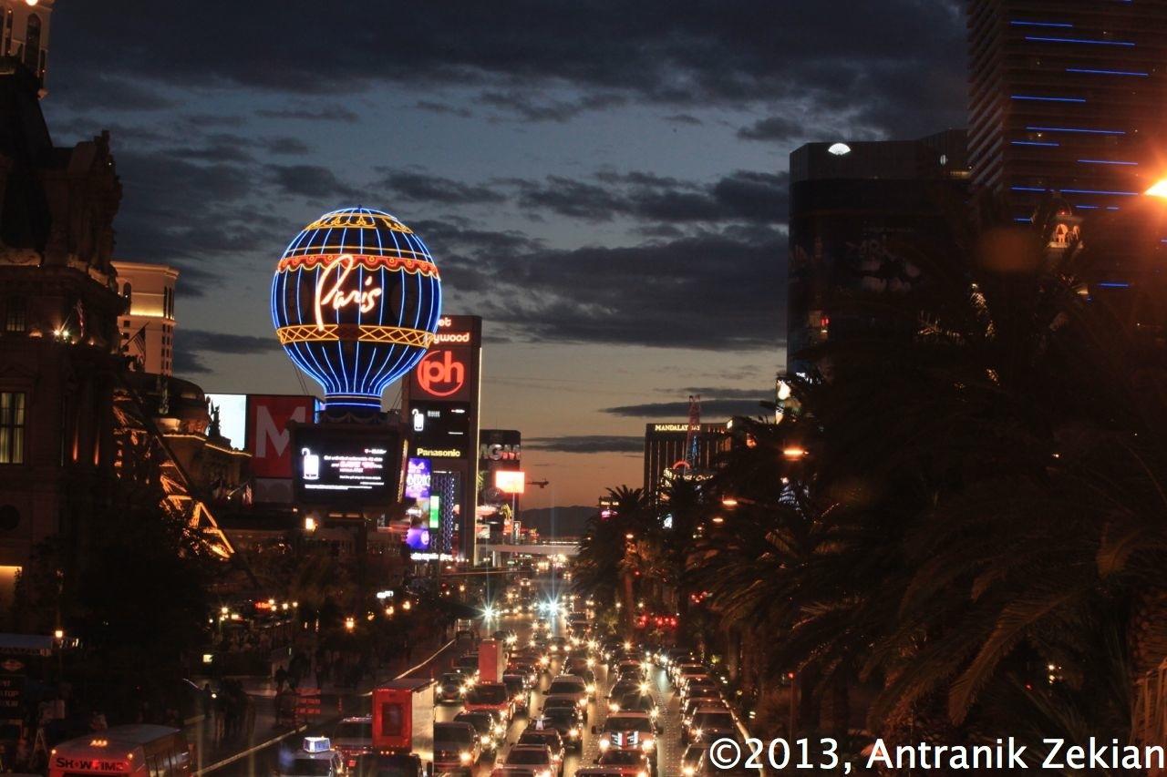Le strip de Vegas