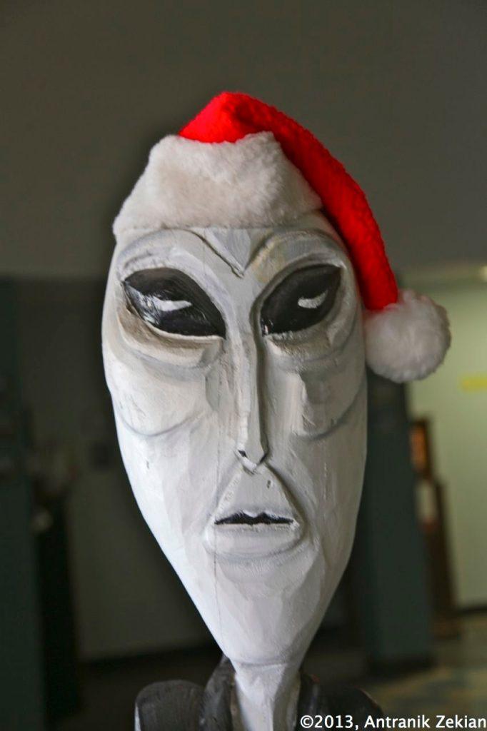 et pourquoi les hommes verts ne fêteraient-ils pas Noel?