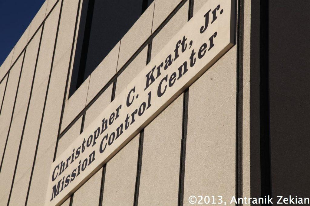 façade extérieure du Mission Control Center