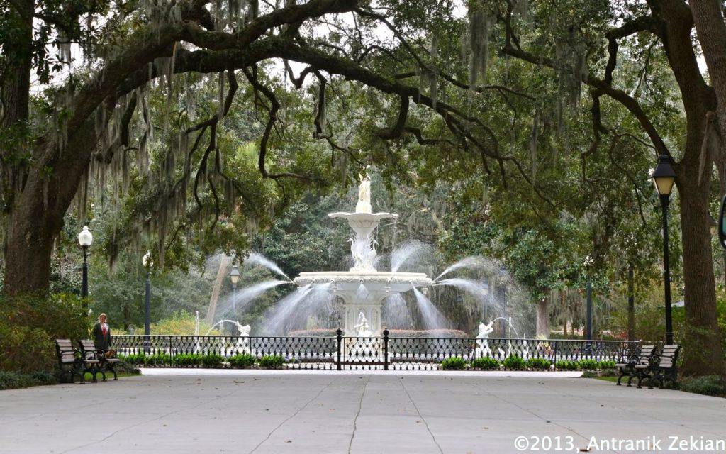 une petite pause dans l'un des nombreux parcs de la ville... nice indeed