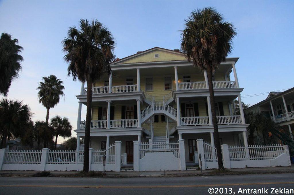 les rues de Charleston, un modèle d'architecture du Sud
